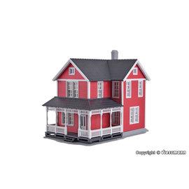 Kibri Kibri 38840 Zweeds huis, rood (Schaal H0)