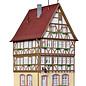 Kibri Kibri 38903 Fachwerkhaus am Markt in Miltenberg (Spur H0)