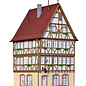 Kibri Kibri 38903 Vakwerkhuis op de markt in Miltenberg (Schaal H0)