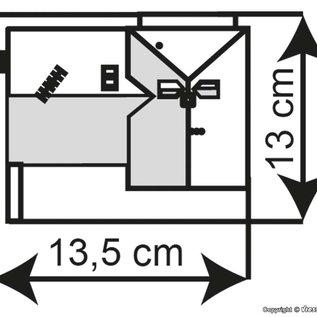 Kibri Kibri 38901 Poortgebouw Miltenberg (Schaal H0)
