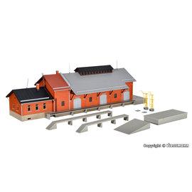 Kibri Kibri 39462 Güterhalle mit Lademaß und Freiladerampe (Spur H0)