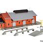 Kibri Kibri 39462 Goederenloods met extra laadplatform  (Schaal H0)