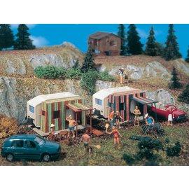 Vollmer Vollmer 45145 Campingwagen, 2 Stück (Spur H0)