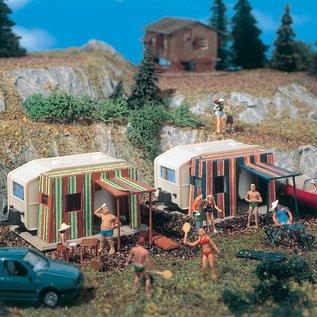 Vollmer Vollmer 45145 Caravan, 2 stuks (Schaal H0)