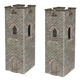 Metcalfe Metcalfe PN192 Wachttorens (Schaal N)