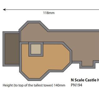 Metcalfe Metcalfe PN194 Burg (Spur N)