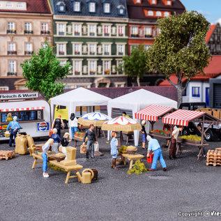 Vollmer Vollmer 45141 Weekmarkt (Schaal H0)