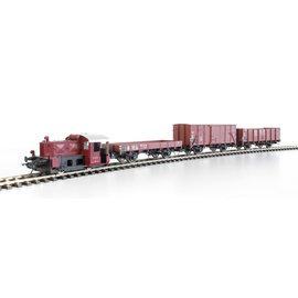 Lenz Elektronik 43101-02 Lenz startset Spoor 0, DB, Köf II 4151 + 3 wagons Periode III