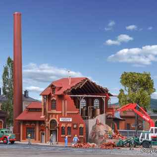 Vollmer Vollmer 45621 Brouwerij in afbraak (Schaal H0)