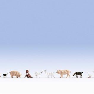 NOCH Noch 36711 Tiere auf dem Bauernhof (Spur N)