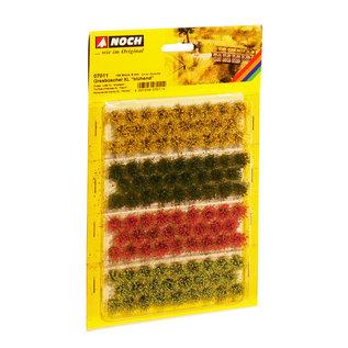 """NOCH Noch 07011 Bosjes Gras XL """"bloeiend"""" 9mm"""