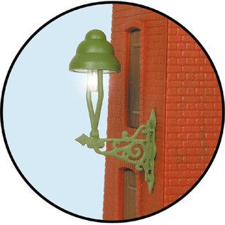 Viessmann  Viessmann 6013 Gas wandlamp LED warmwit (Spoor 0)