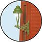 Viessmann  Viessmann 6013 Gas-Wandlaterne grün, LED warmweiß (Spur 0)