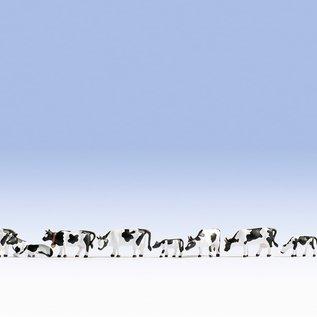 NOCH Noch 36721 Koeien, zwart-wit (Schaal N)