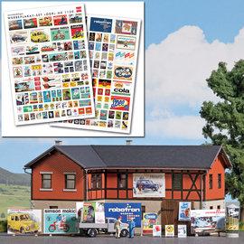Busch Busch 1130 DDR reclameposters (Schaal H0)