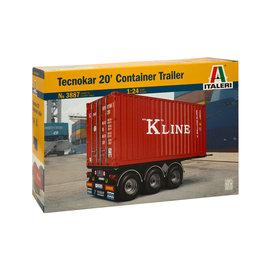 Italeri Italeri 3887 Technokar 20' Container Anhänger (Maßstab 1: 24)