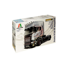 """Italeri Italeri 3906 Scania R730 V8 Streamline """"Silver Griffin"""" (Scale 1 : 24)"""