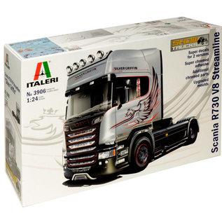 """Italeri Italeri 3906 Scania R730 V8 Streamline """"Silver Griffin"""" (Maßstab 1: 24)"""