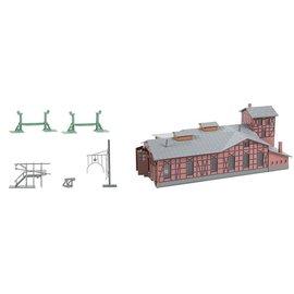 Faller Faller 222113 Depot set engine shed (Gauge N)