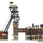 Kibri Kibri 37228 Förderturm mit Maschinenhaus und Kohlewäschegebäude (Spur N)