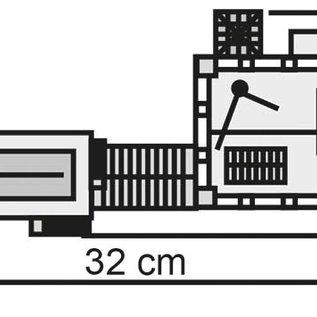 Kibri Kibri 37228 Mijntoren met machinehuis en kolenwasserij (Schaal N)