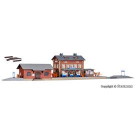 Kibri Kibri 37396 Rauenstein station with goods shed (Gauge N)
