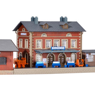Kibri Kibri 37396 Bahnhof Rauenstein mit Güterschuppen (Spur N)