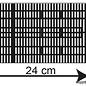 Kibri Kibri 37758 Perronoverkapping grijs (Schaal N)