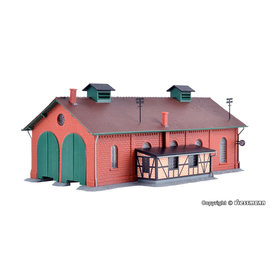 Kibri Kibri 37438 Loco shed, double track (Gauge N)