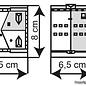 Kibri Kibri 37154 Bürgerhäuser in Tournai (Spur N)