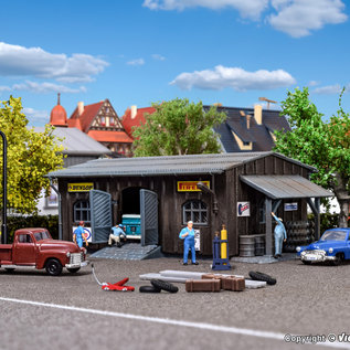 Vollmer Vollmer 47555 Auto werkplaats (Schaal N)