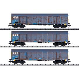 """Trix Trix 24367 NS Güterwagen-Set """"Holzhackschnitzeltransport"""" DC tijdperk V (schaal H0)"""