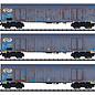 "Trix Trix 24367 NS Güterwagen-Set ""Holzhackschnitzeltransport"" DC era V (gauge H0)"
