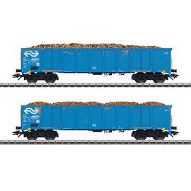 """Märklin Märklin 47193 NS Hochbordwagen-Set """"Rübentransport"""" AC Epoche IV-V (Spur H0)"""