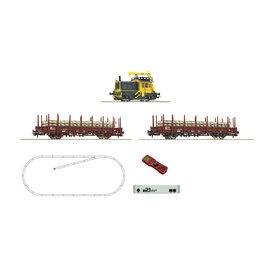 """Roco Roco 51333 NS z21 start Digitalset: Diesellocomotief """"Sik"""" met werktrein, Periode IV (Schaal H0)"""