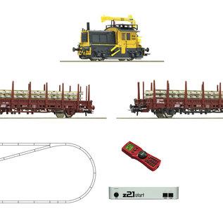 """Roco Roco 51333 NS z21 start Digitalset: Diesellokomotive """"Sik"""" mit Bauzug Epoche IV (Spur H0)"""