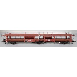 "Exact Train Exact Train Ex20554 NS  ""Lacs 3-achsiger Autotransportwagen"", Periode III (Schaal H0)"