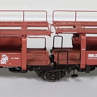 "Exact Train Exact Train Ex20559 NS  ""Lacs 3-achsiger Autotransportwagen"", Periode III (Schaal H0)"
