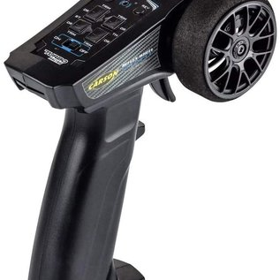 Tamiya Carson Carson 500102 Reflex Wheel Start 2.4GHz Schwartz Radioset