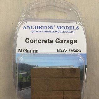 Ancorton Models Ancorton N3-G1 Garagenbox aus Beton (Spur N, 3D print)