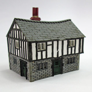 Ancorton Models Ancorton NTC1 Tudor Cottage (schaal N, lasercut)