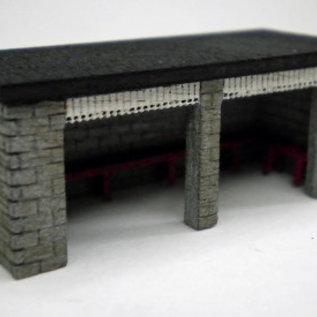 Ancorton Models Ancorton NST2 Wachtruimte (schaal N, lasercut)