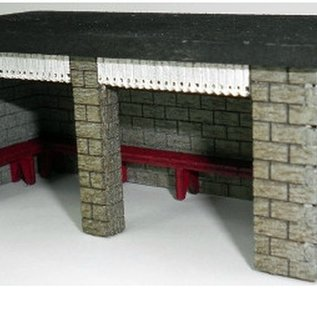Ancorton Models Ancorton OOST2 Wachtruimte (schaal H0/00, lasercut)
