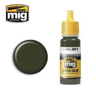 MIG Jimenez MIG 0001 RAL 6003 OLIVGRÜN OPT.1 (17 ML)