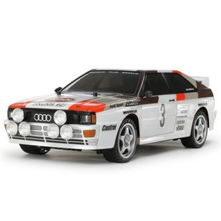 Tamiya Carson Tamiya 58667 1/10 RC Audi quattro Rally A2 TT-02