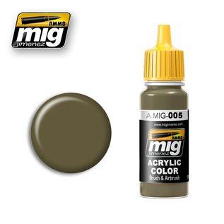 MIG Jimenez MIG 0005 RAL 7008 Graugrün (17 ML)