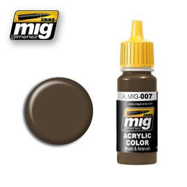 MIG Jimenez MIG 0007 RAL 7017 Dunkelbraun (17 ML)