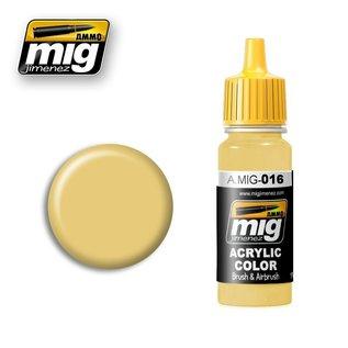 MIG Jimenez MIG 0016 RAL 8020 Gelbbraun (17 ML)