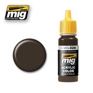 MIG Jimenez MIG 0020 6K Russian Brown (17 ML)