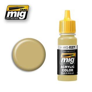 MIG Jimenez MIG 0027 RAL 1039 F9 German Sand Beige (17 ML)